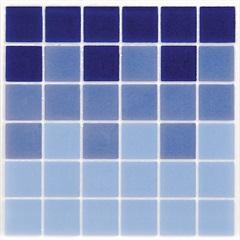 Faixa para Piscina Esmalte Azul 15x15cm  - Eliane