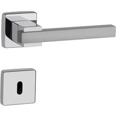 Fechadura Dudu Interna 55mm Cromado Alumínio Acetinado Escovado - Lockwell
