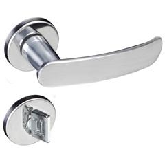 Fechadura para Banheiro com Roseta Madrid Cromado - Pado