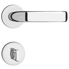 Fechadura para Banheiro com Roseta Magnum Cromado - Pado