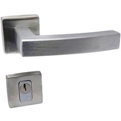 Fechadura Quadra Externa 55mm Cromado Acetinado  - Lockwell