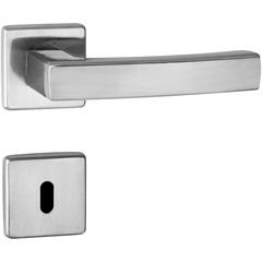 Fechadura Quadra Interna 55mm Zamac Cromado Acetinado - Lockwell