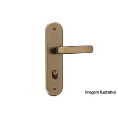 Fechadura Stilo Bronze Latonado Externa a/a - MGM