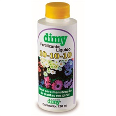 Fertilizante Liquido 10-10-10 120ml  - Dimy