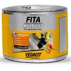 Fita Autoadesiva para Vedação Multiuso 10cm com 10 Metros - Vedacit