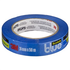 Fita Crepe Blue Tape 24 Mm X 50metros - 3M