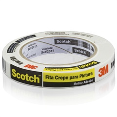 Fita Crepe Scotch 19 Mm X 50 Metros             - 3M
