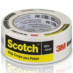 Fita Crepe Scotch 50mm X 50m   - 3M