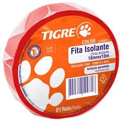 Fita Isolante Color Vermelho 10m - Tigre