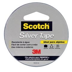 Fita Silver Tape 45mmx5 Metros - 3M