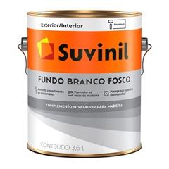 Fundo Branco Fosco 3,6 Litros Ref. 53408297 - Suvinil