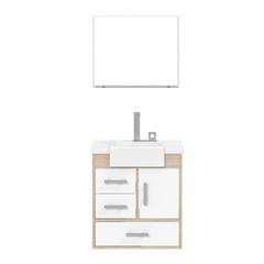 Gabinete para Banheiro Alhena Branco 57 Cm Ref.: 1734 - Cerocha