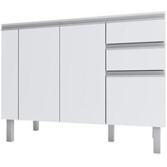 Gabinete para Cozinha em Mdf Tupã 114cm Branco - Cozimax