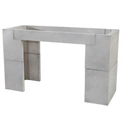 Gabinete para Pia em Concreto 87x150cm Cinza - Redentor