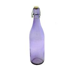 Garrafa de Água  Lilás 1 Litro 33 X 9 X 9 Cm  - Toyland