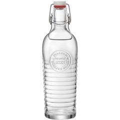 Garrafa de Vidro Transparente Bormioli Offi 1,2 Litros - GS
