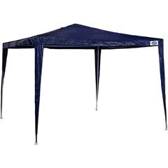 Gazebo em Aço com Cobertura de Ráfia 300x300cm Azul - MOR