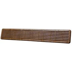Grade de Ventilação Imbuia 50 X 8 Cm - WDB