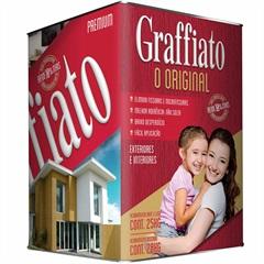 Graffiato Premium Liso 25kg Branco Neve Ref.:22433  - Hydronorth