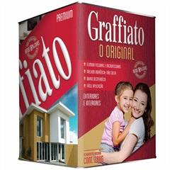 Graffiato Premium Riscado 28kg Verde Amazonas Ref.: 22424  - Hydronorth