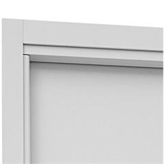 Guarnição para Porta Interna Aluminium 215x78cm Branca - Sasazaki