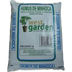 Humus de Minhoca 2kg             - westgarden