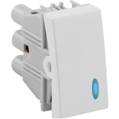 Interruptor Paralelo com Luz 10a 220v Simon 30 Branco - Simon