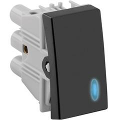 Interruptor Paralelo com Luz 10a 250v Grafite Fosco S30 - Simon