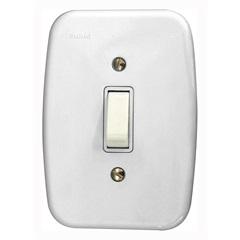 Interruptor Simples com Placa Branca Claris 250v - Schneider