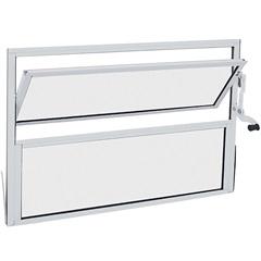 Janela Basculante Branca  40x60 Cm Ref.: 78301015  - Sasazaki