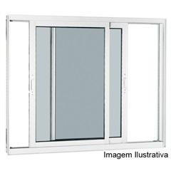 Janela Integrada Reflex Branca Branca 100x150 Ref.: 70516551  - Sasazaki