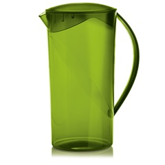 Jarra Redonda Cristal Verde 2lts - Ou
