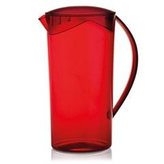 Jarra Redonda Cristal Vermelha 2lts - Ou