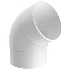 Joelho 60° Circular Aquapluv Style Branco - Tigre