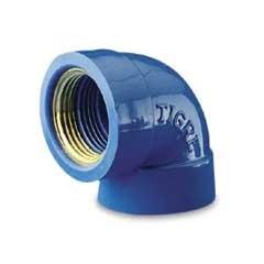 """Joelho Azul com Bucha de Latão 20mm X 1/2"""" - Tigre"""