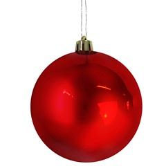 Jogo de Bolas para Árvore de Natal 6cm 12 Peças Vermelho - Santini Christmas