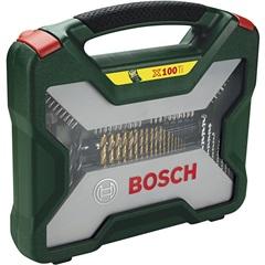 Jogo de Brocas E Pontas em Titânio X-Line com 100 Peças - Bosch