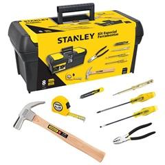 Jogo de Ferramentas Kit Especial com 8 Peças - Stanley