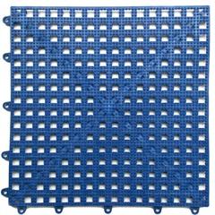 Kit com 6 Tapetes para Banheiro Acqua Kap Azul Royal 30x30cm - Kapazi