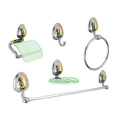 Kit de Acessórios para Banheiro Bonno 5 Peças  - Stamplas