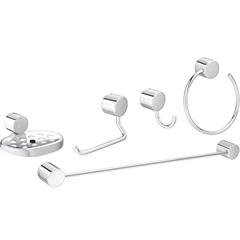 Kit de Acessórios para Banheiro Flex com 5 Peças 2000 C  - Deca