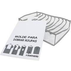 Kit de Organizador Colmeia para Camisa 30x24x10cm Cinza - Boxgraphia