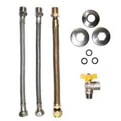 Kit Ligação para Aquecimento À Gás 30cm Ref.: Vgk030cwb  - Esteves