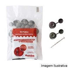 Kit para Fixação de Telha Prego + Anilha Verde - Onduline