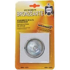 Kit Spot de Embutir em Zamac 220v Branco Ref. Khd0383bc2 - Bronzearte