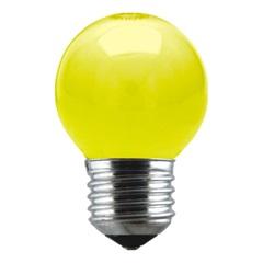 Lâmpada Bolinha Amarela 15w 127v - Taschibra