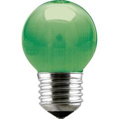 Lâmpada Bolinha Led 1w 220v Verde  - Taschibra