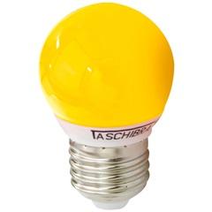 Lâmpada Bolinha Led Amarela 1w 220v        - Taschibra