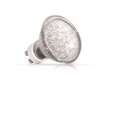 Lâmpada Dicróica 20 Leds 1w 127v Gu10 Neutra  - Bronzearte