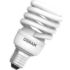 Lâmpada Eletrônica Espiral 23w 220v Amarela - Osram